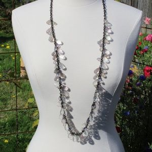 Glass Ann Taylor Accent Necklace